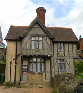 St Mary's Almshouses (North Wing), Church Lane, Godstone.jpg