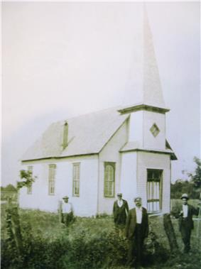 St. Stephen's AME Church, circa 1900.