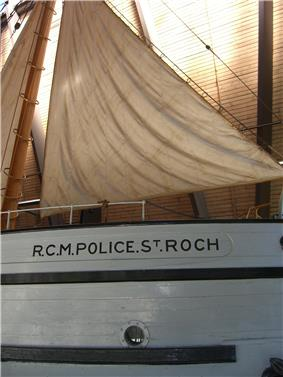 The St. Roch at the Vancouver Maritime Museum