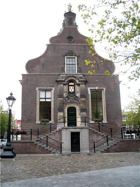 Old city hall of Schiedam