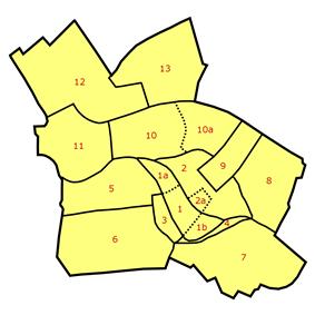 Subdivision of Mitte