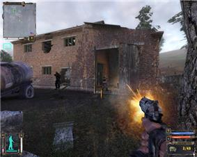 Screenshot of STALKER: Shadow of Chernobyl