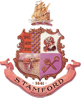 Official seal of Stamford, Connecticut