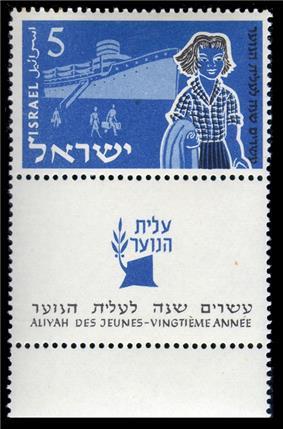 Youth Aliyah by ship