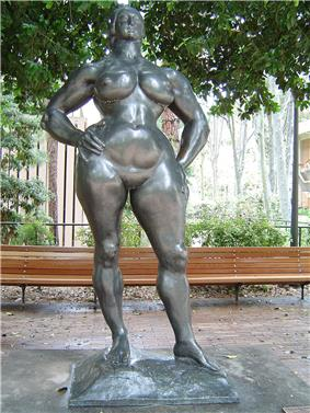 Sculpture of a Woman Standing by Gaston Lachaise, 1932