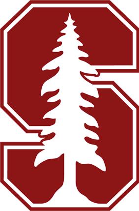 ''Stanford Cardinal baseball athletic logo''