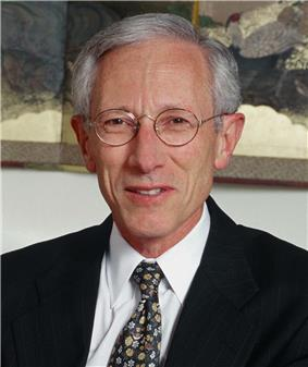 Photo of Stanley Fischer, Former governor of Bank of Israel.