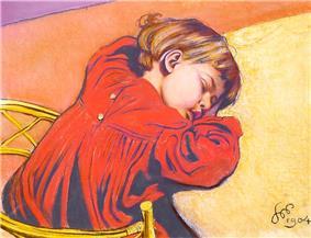 Wyspiański, Sleeping Staś, 1904