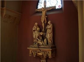 Crucification (Stations of the Cross) inside the Main Chapel