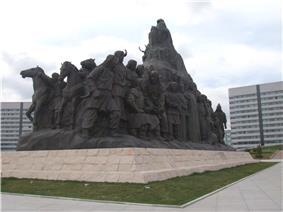 Genghis Khan Memorial in Ordos City