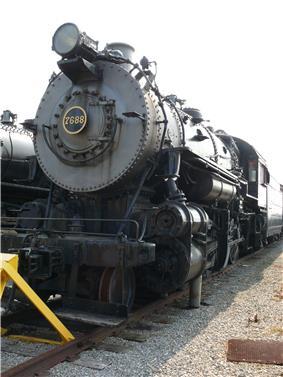 Consolidation Freight Locomotive No. 7688