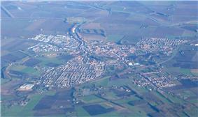 Aerial view of Steenbergen