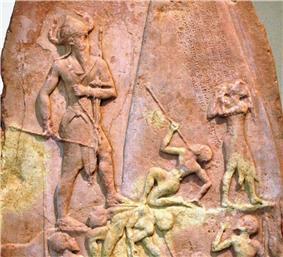 Naram-Sin, stele