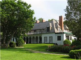 View of Stephen Leacock House