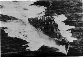 USS Stevens (DD-479), 1943