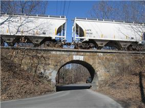 Stone Arch Underpass