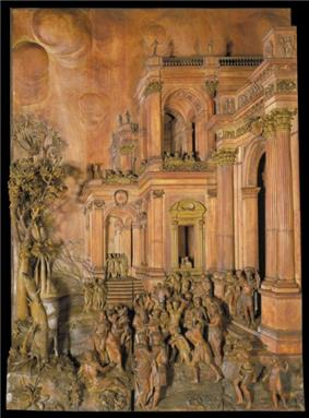 Stoning of St Stephen - Grinling Gibbons c1680 (Nancy).jpg
