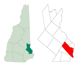 Location within New Hampshire
