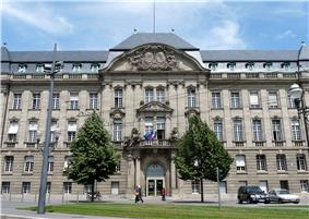 Prefecture building of the Bas-Rhin department, in Strasbourg