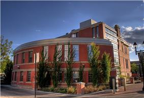 Exterior of the Old Strathcona Public Library