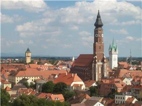 View of Straubing.