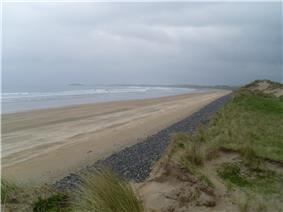 Streedagh Beach Sligo.