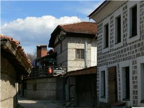 View of central Bansko