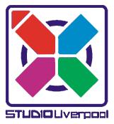 The SCE Studio Liverpool Logo