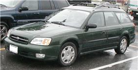 Third generation Subaru Legacy.