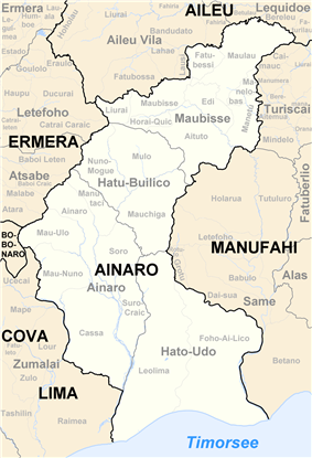 Subdistricts of Ainaro