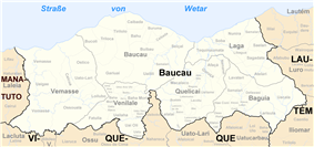 Subdistricts of Baucau