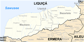 Subdistricts of Liquiçá