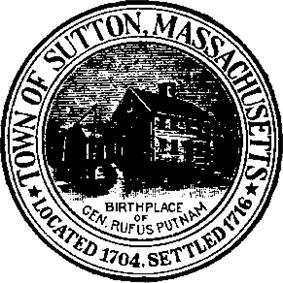 Official seal of Sutton, Massachusetts