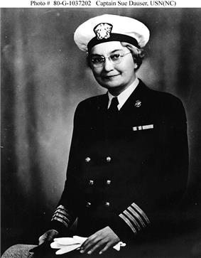 CAPT Sue S. Dauser, Nurse Corps, USN