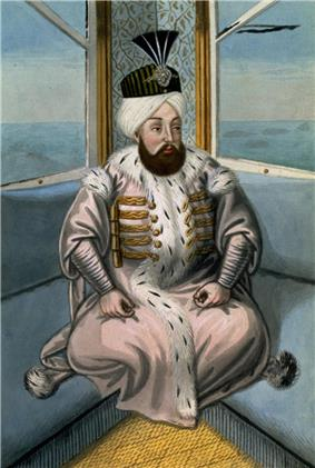 Portrait of Suleiman II by John Young