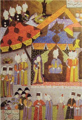 Queen Isabella before Suleiman I