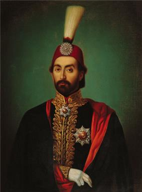 Portrait of Abdülmecid I