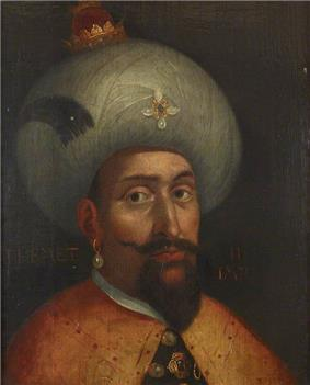 Portrait of Mehmed III by John Young