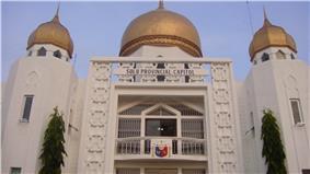 Sulu Provincial Capitol Building in Jolo