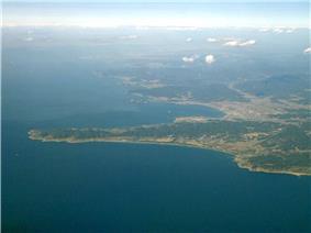 Cape Sunosaki and Tateyama City