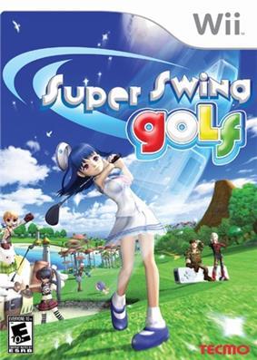 Super Swing Golf box art
