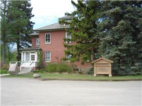 Superintendent's residence at the Forestry Farm Park and Zoo