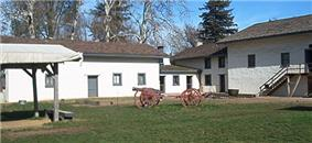 Photograph of Sutter's Fort