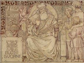 Svatopluk I and his three sons