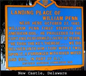 William Penn Historic Marker