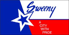 Flag of Sweeny, Texas