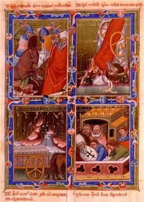 St Gerard's martyrdom