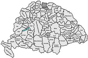 Location of Szepes