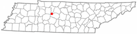 Location of Fairview, Tennessee