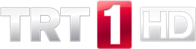 Logo of TRT 1 HD.
